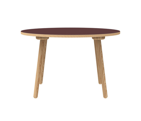 MT2 Oak linoleum table de Faust Linoleum | Mesas comedor
