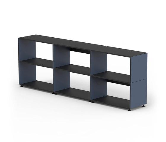 Plusminus shelf di Faust Linoleum | Sistemi scaffale ufficio