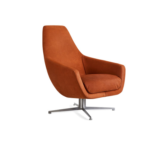 Enzo swivel base di Montis | Poltrone lounge
