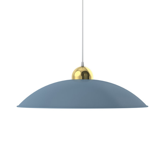 Nepal flat wedgewood blue de Les Basic | Lámparas de suspensión