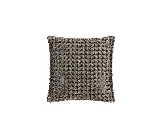 Garden Layers Small Cushion Gofre green von GAN | Kissen