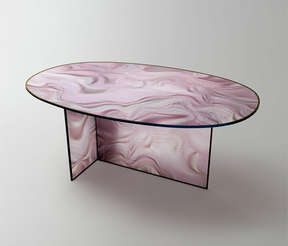 Liquefy by Glas Italia | Dining tables
