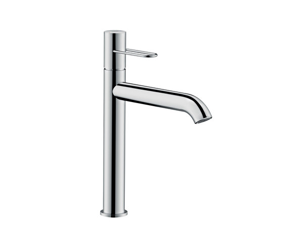 AXOR Uno Single lever basin mixer 190 loop handle without pull-rod by AXOR | Wash basin taps