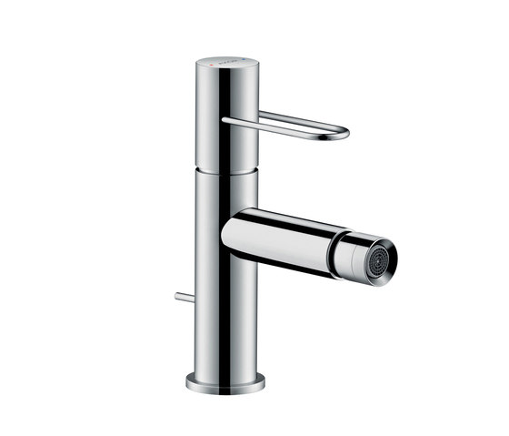 AXOR Uno Single lever bidet mixer loop handle with pop-up waste set by AXOR | Bidet taps
