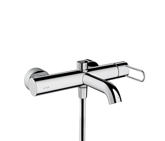 AXOR Uno Single lever bath mixer for exposed installation loop handle by AXOR | Bath taps
