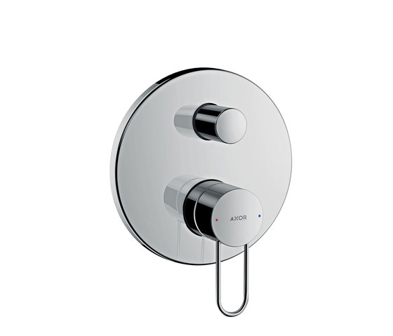 AXOR Uno Single lever bath mixer for concealed installation loop handle with integrated security combination according to EN1717 by AXOR | Bath taps