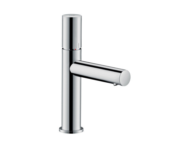 AXOR Uno Single lever basin mixer 110 zero handle without pull-rod by AXOR | Wash basin taps