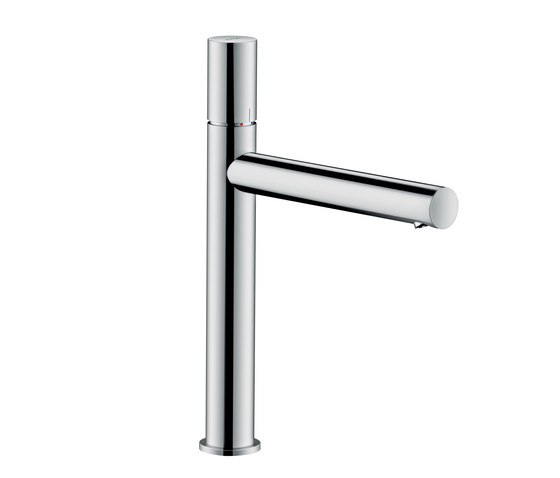 AXOR Uno Single lever basin mixer 200 zero handle without pull-rod by AXOR | Wash basin taps