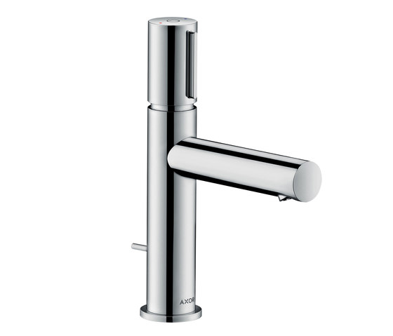 AXOR Uno Select basin mixer 110 with pop-up waste set by AXOR | Wash basin taps