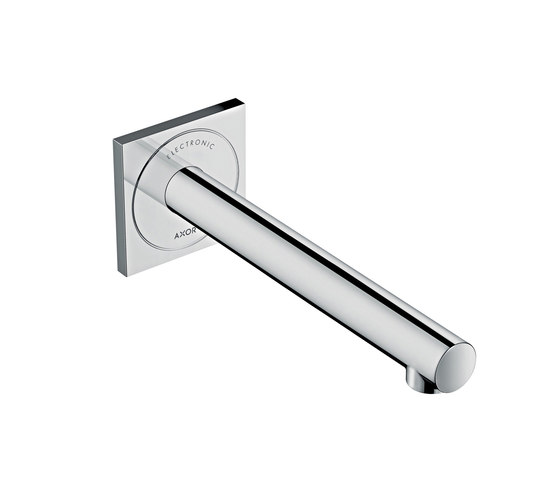 AXOR Uno Electronic basin mixer for concealed installation wall-mounted 220 by AXOR | Wash basin taps