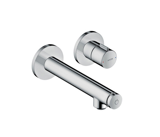 AXOR Uno Select basin mixer for concealed installation wall-mounted 165 by AXOR | Wash basin taps