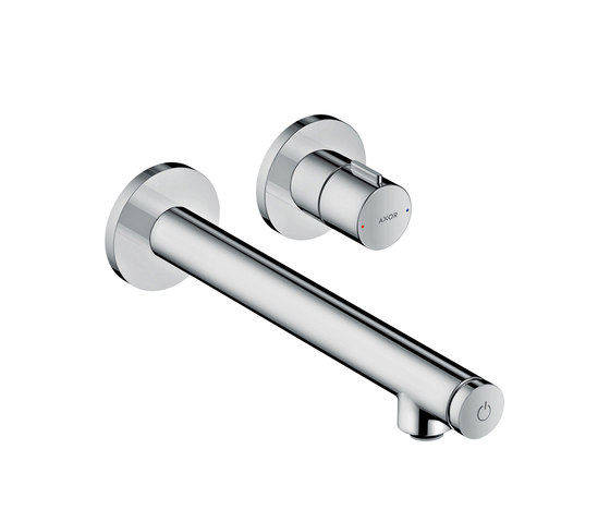 AXOR Uno Select basin mixer for concealed installation wall-mounted 220 by AXOR   Wash basin taps