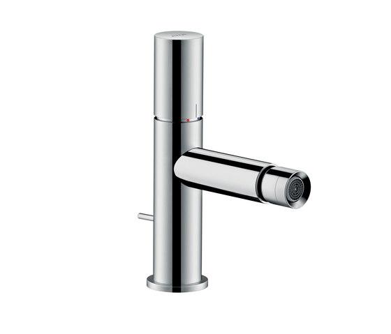 AXOR Uno Single lever bidet mixer zero handle with pop-up waste set by AXOR | Bidet taps