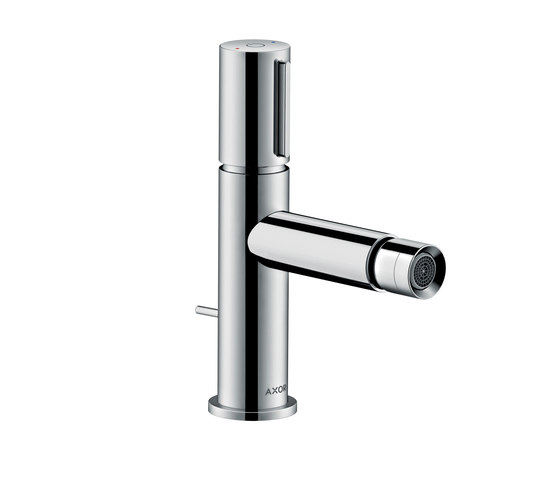 AXOR Uno Select bidet mixer with pop-up waste set by AXOR | Bidet taps