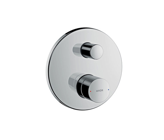 AXOR Uno Single lever bath mixer for concealed installation zero handle with integrated security combination according to EN1717 by AXOR | Shower controls