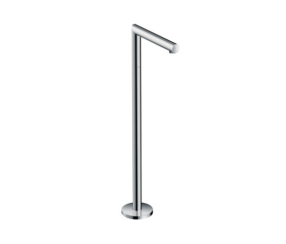 AXOR Uno Bath spout floor-standing straight by AXOR   Bath taps