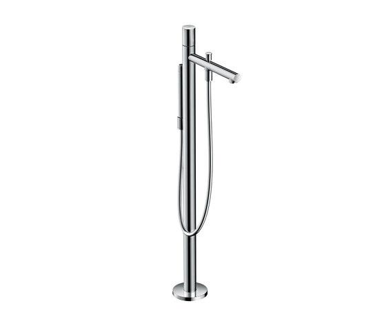 AXOR Uno Single lever bath mixer floor-standing zero handle by AXOR | Bath taps