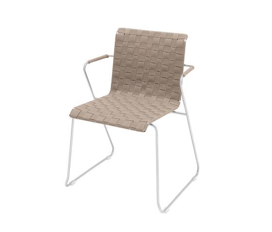 Slim Collection Essen   Stuhl Belt mit Armlehne von Viteo   Stühle