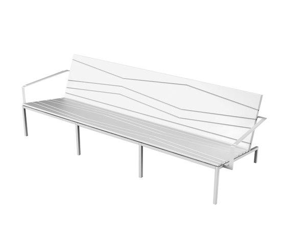 Bandoline Collection Lounge | Lounge Sofa von Viteo | Sofas