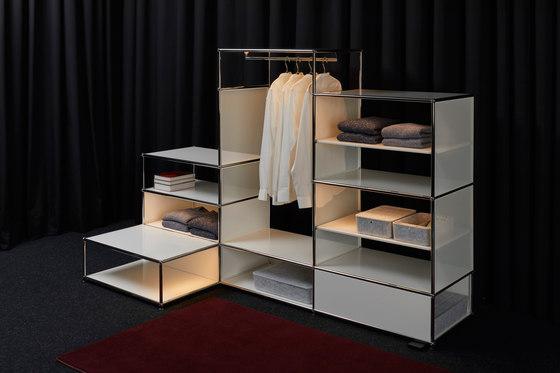 USM Haller E by USM | Freestanding wardrobes