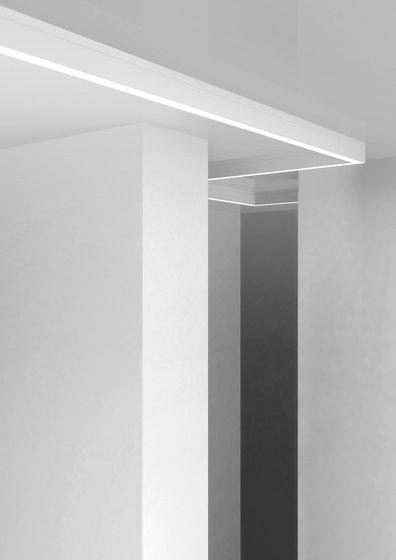 Rail Sistema ceiling/wall di EGOLUCE | Lampade parete