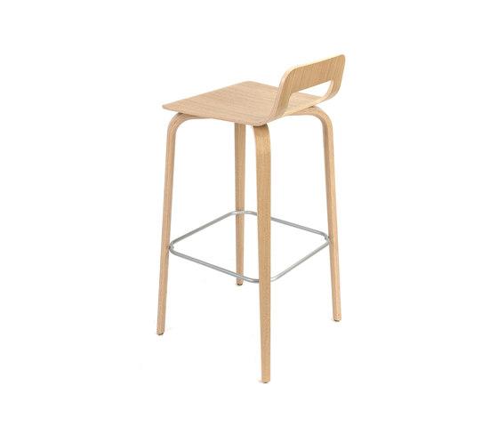 Korvet Barstool - Naked by PlyDesign | Bar stools