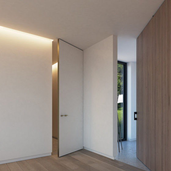 Portapivot 5045   bronze anodized by PortaPivot   Internal doors