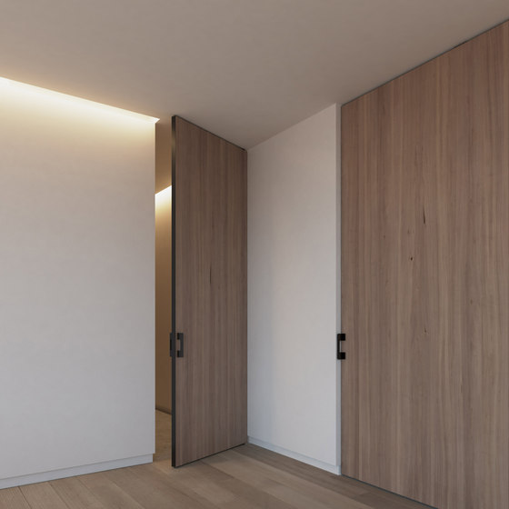 Portapivot 5045 | black anoized de PortaPivot | Puertas de interior