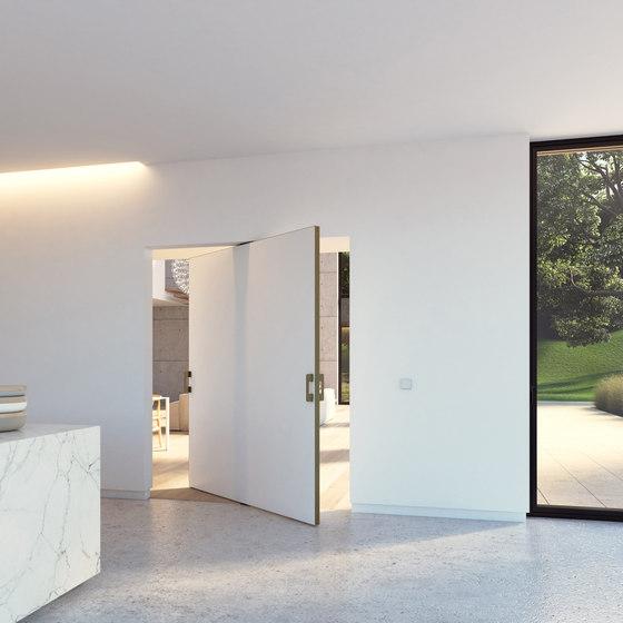 Portapivot 5045 XL | bronze anodized de PortaPivot | Puertas de interior