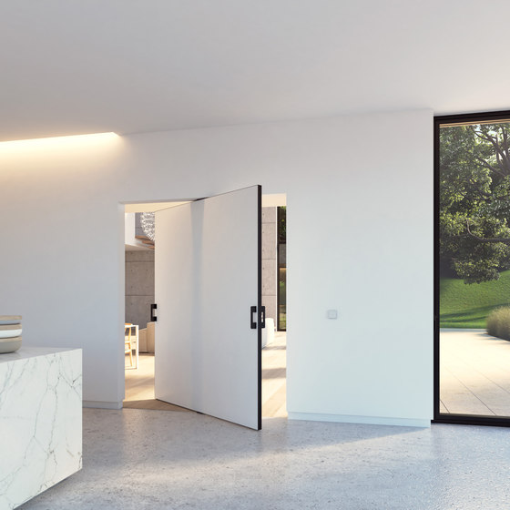 Portapivot 5045 XL | black anodized by PortaPivot | Internal doors