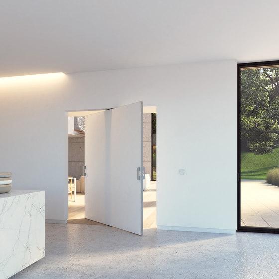 Portapivot 5045 XL | silver anodized de PortaPivot | Portes intérieures