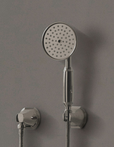 Finezza - Wall-mounted hand shower set by Graff | Shower controls