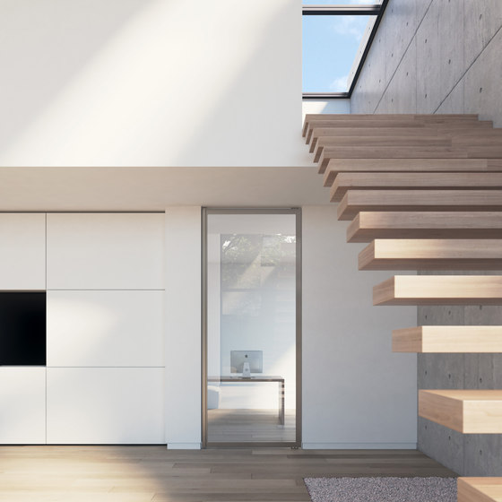 Portapivot 6530 | silver anodized by PortaPivot | Internal doors