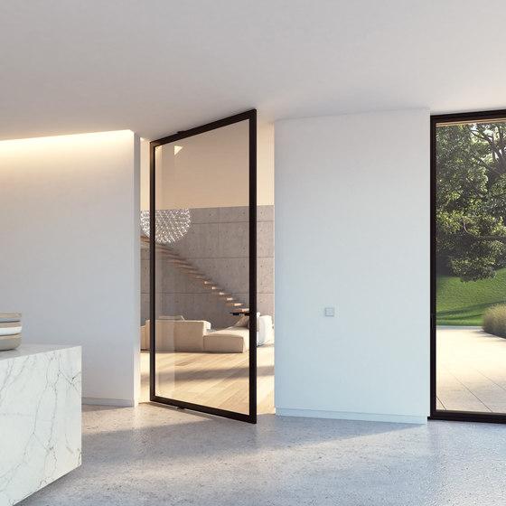 Portapivot 6530 XL | black anodized de PortaPivot | Portes intérieures