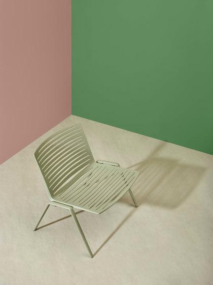 Zebra Fauteuil Lounge de Fast | Fauteuils de jardin