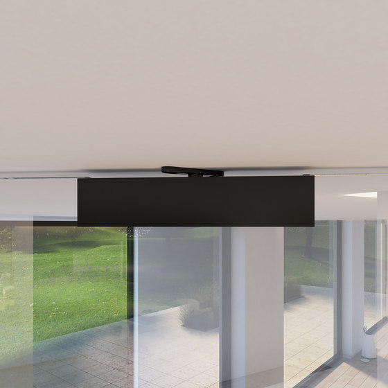 Portapivot Glass XL | black anodized by PortaPivot | Internal doors