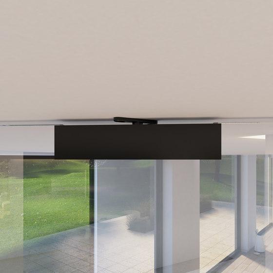 Portapivot Glass XL | black anodized de PortaPivot | Portes intérieures