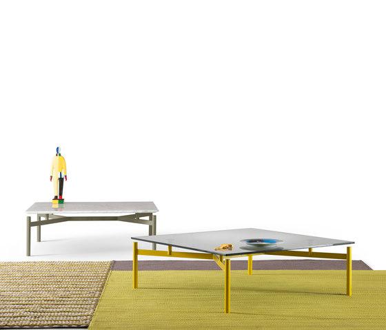 Ed | Tavolino quadrato di My home collection | Tavolini salotto