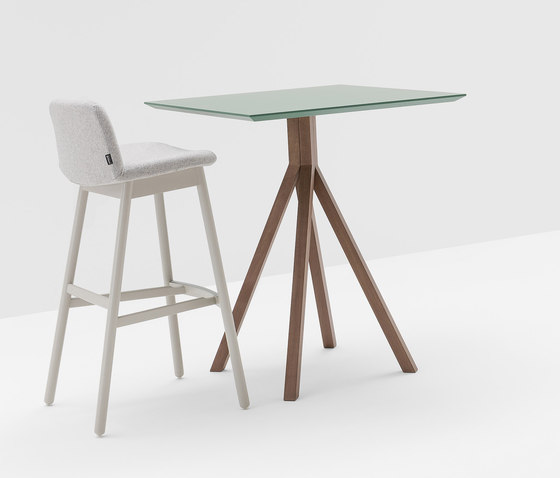Grapevine with base 777 by Billiani | Bar tables