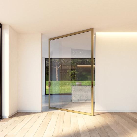 Portapivot 6530 XL | bronze anodized de PortaPivot | Portes intérieures
