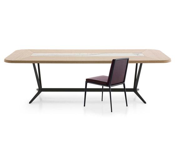 Astrum Rectangular table by Maxalto | Restaurant tables