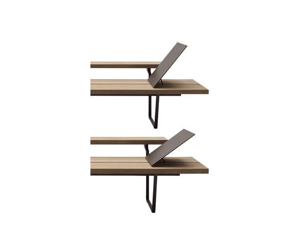 New Wood Plan Chaise-longue de Fast | Méridiennes de jardin