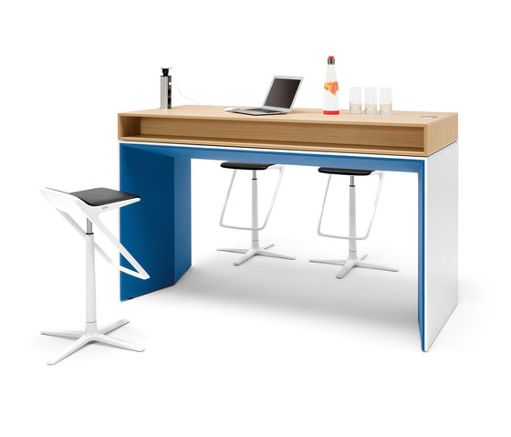 Winea Plus | Panelleg tabel by WINI Büromöbel | Standing tables