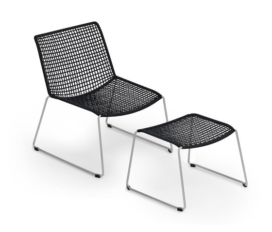 Slope Lounge Chair with Stool de Weishäupl | Fauteuils de jardin