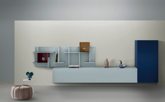 Settle | Wall system by My home collection | Wall storage systems