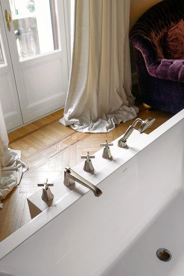 Finezza - Deck-mounted bathtubset by Graff | Bath taps