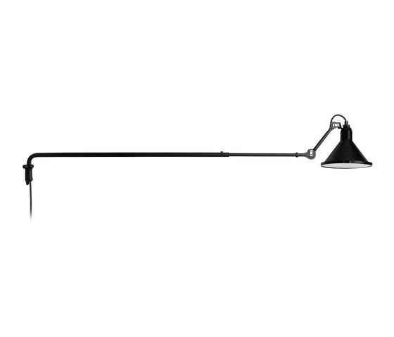 LAMPE GRAS | XL OUTDOOR SEA - N°213 black by DCW éditions | Outdoor wall lights