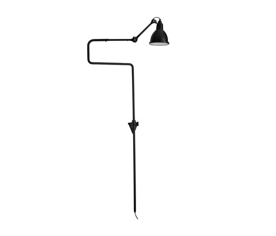LAMPE GRAS | XL OUTDOOR SEA - N°217 black by DCW éditions | Outdoor wall lights