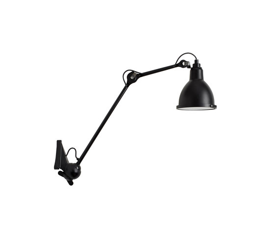 LAMPE GRAS | XL OUTDOOR SEA - N°222 black by DCW éditions | Outdoor wall lights