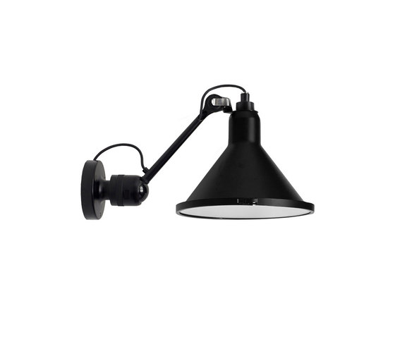 LAMPE GRAS | XL OUTDOOR SEA - N°304 black by DCW éditions | Outdoor wall lights